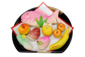 信濃屋の御雛菓子8種(鯛入)