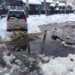 20170117信濃屋駐車場雪除へ完了