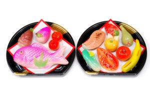 信濃屋の御雛菓子 2段、12種(鯛入)