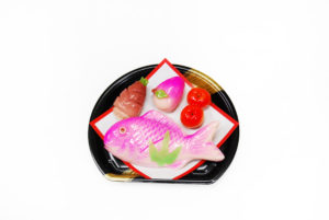 信濃屋の御雛菓子4種(鯛入)